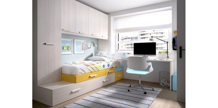 Resultado de imagen de dormitorio juvenil | Decoración | Pinterest ...