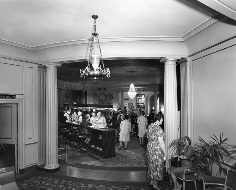 Hotel roanoke promotional exhibit 1960s home decor