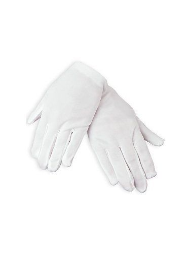 Child Size White Gloves (1 Pair) [Toy] by Fun Express. $4.29. Whether your child is invited to a tea party or wants to perform magic, this costume accessory is a must! Sold in pairs, our child-sized white gloves are designed to fit both boys and girls. Place a pair at each place setting and watch imaginations soar!