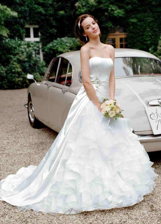 Rent wedding dress davids bridal  All white  Then comes marriage  Pinterest
