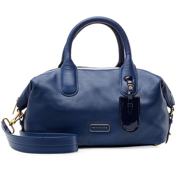 2033dcf254d1 Marc by Marc Jacobs Medium Leather Legend Bowling Bag (340 CAD) ❤ liked on