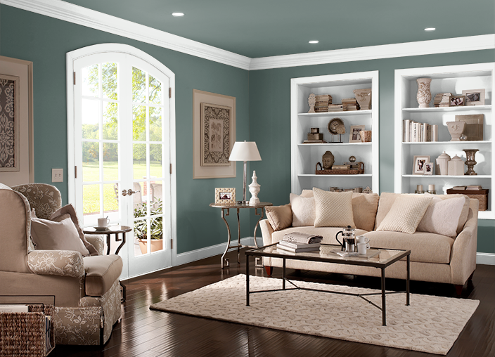 Decorating your living room properly will. Blue Fir   Paint colors for living room, Living room ...