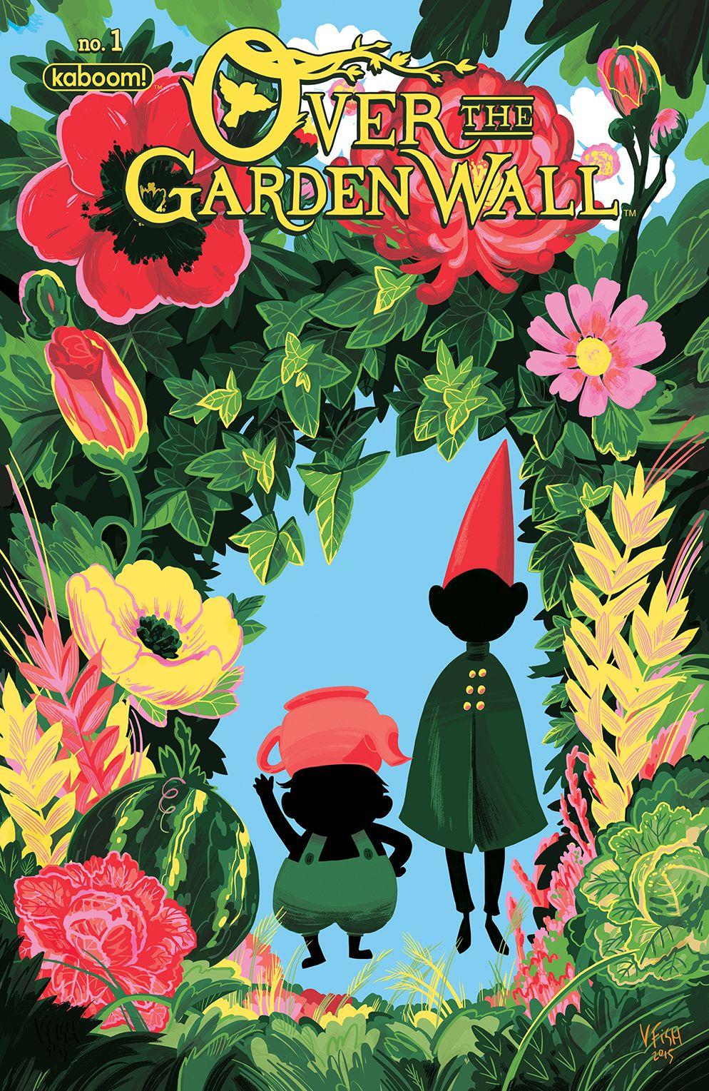 Comic book preview over the garden wall over the garden wall