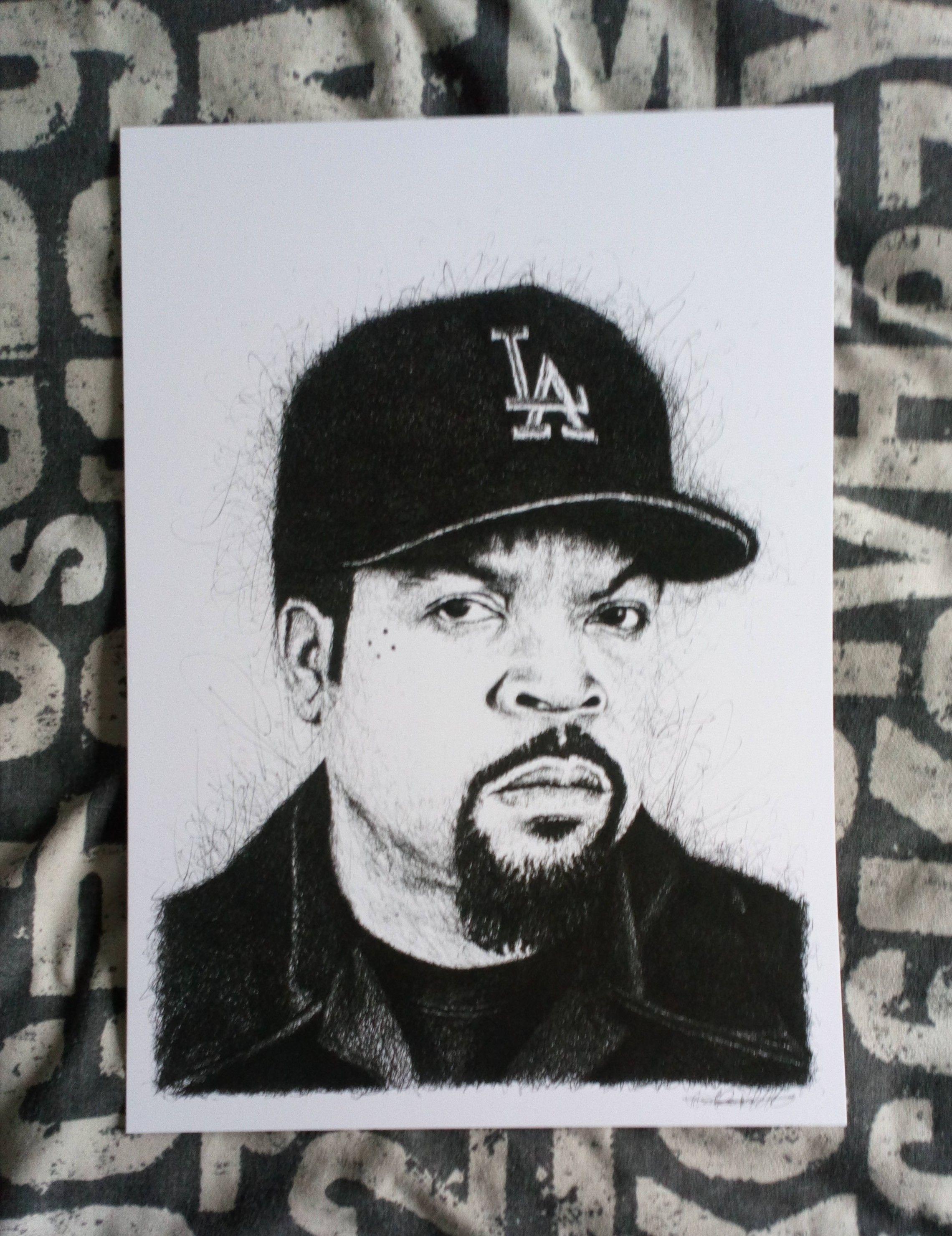 "NWA Straight Outta Compton Hip Hop Album Cover Silk Poster 20×20/"" 24×24/"" 32×32/"""