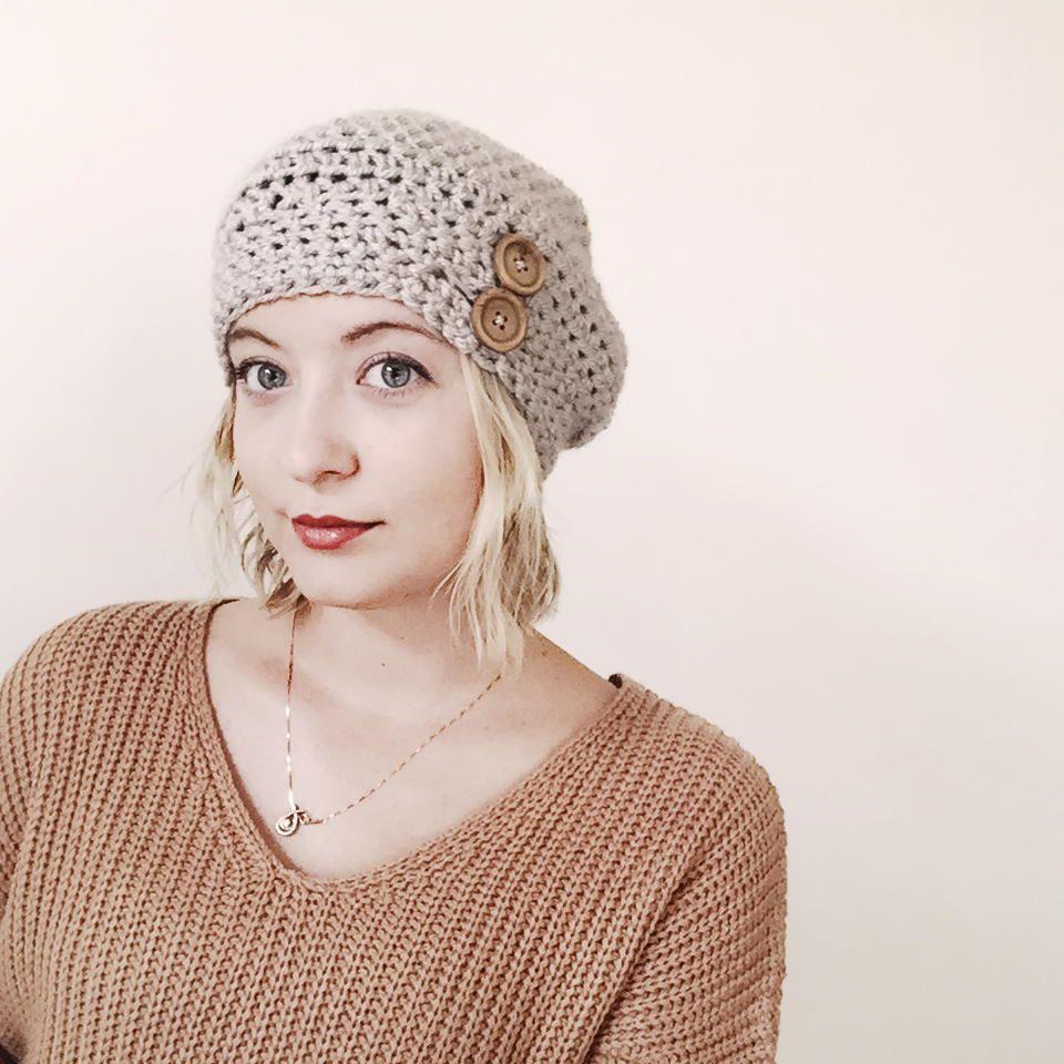 The Avery Hat | Schal häkeln, Gehäkelte mützen und Mütze