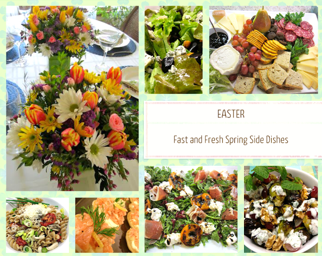 Easy Easter Sides, Salads, and Hors D'oeuvres