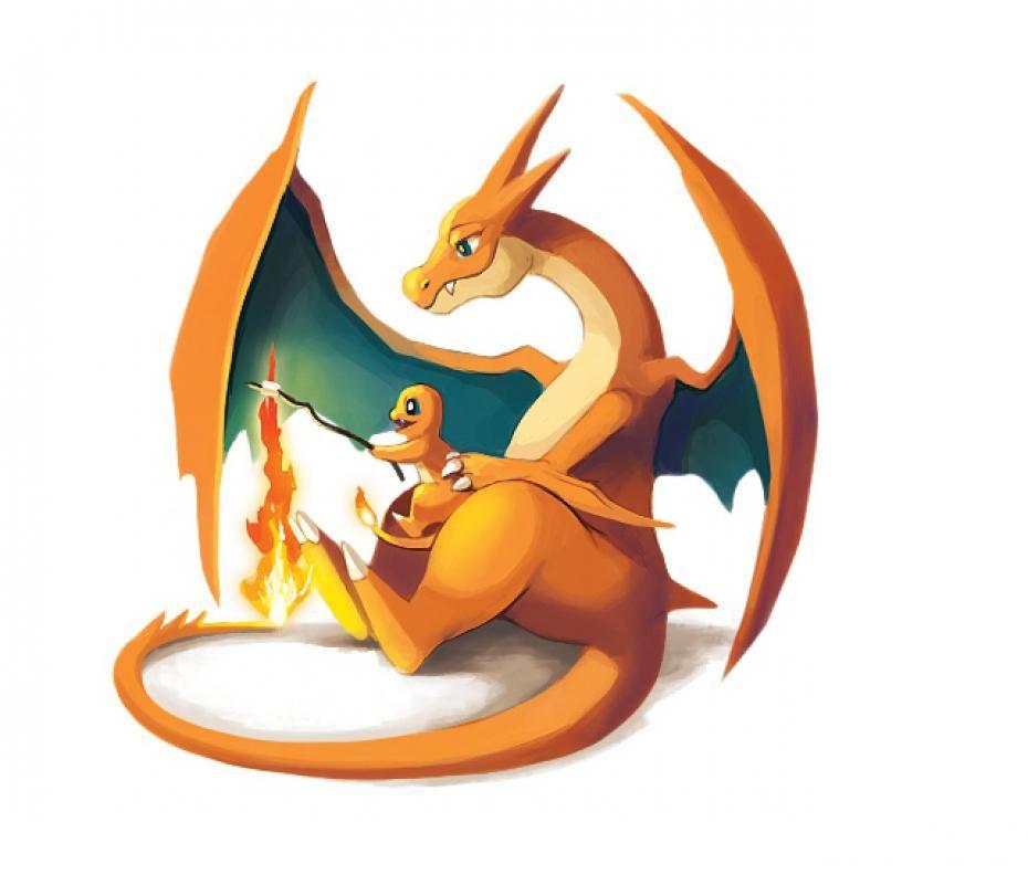 Photos les pokemon aussi sont des parents mod les - Evolution de dracaufeu ...