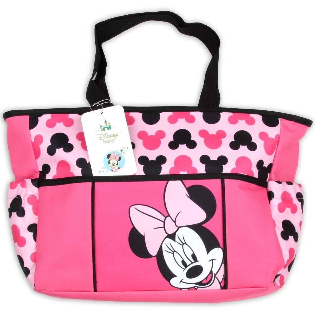 34592661c83 Disney Baby Pink Minnie Mouse Diaper Bag.