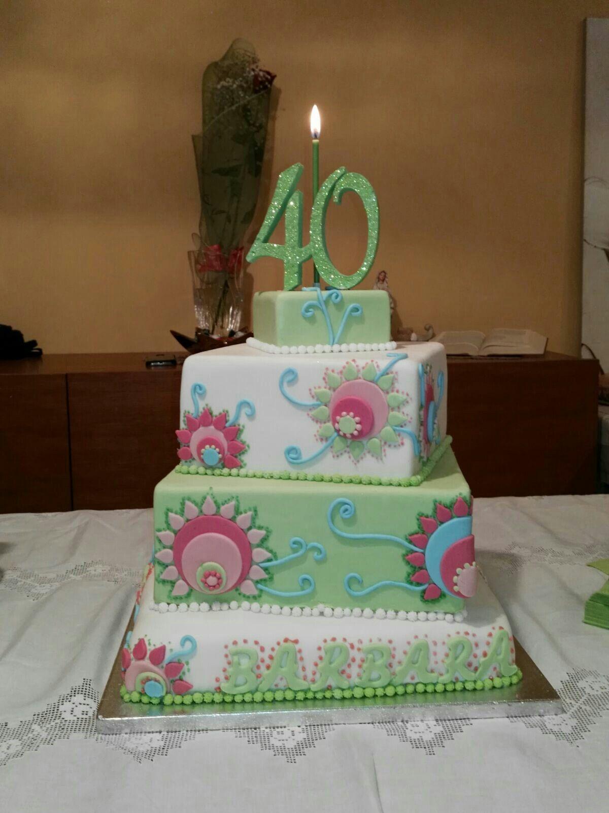 Festa Di Quarant Anni torte di compleanno 40 anni (con immagini)   torte di