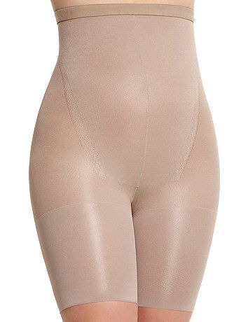 b0ca9fe09b Create an hourglass silhouette with Spanx In-Power Line Super Higher Power  hosiery shaper. A perfect choice under skirts and dresses