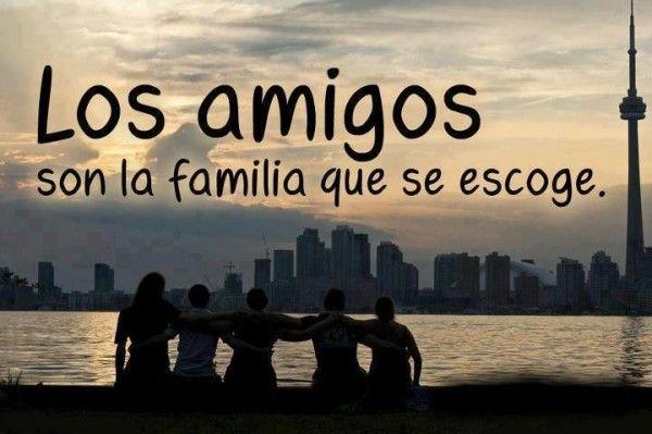 Palabras De Agradecimiento A Los Amigos Pensamientos De Amistad Los Amigos Son La Familia Dedicatorias Para Amigos