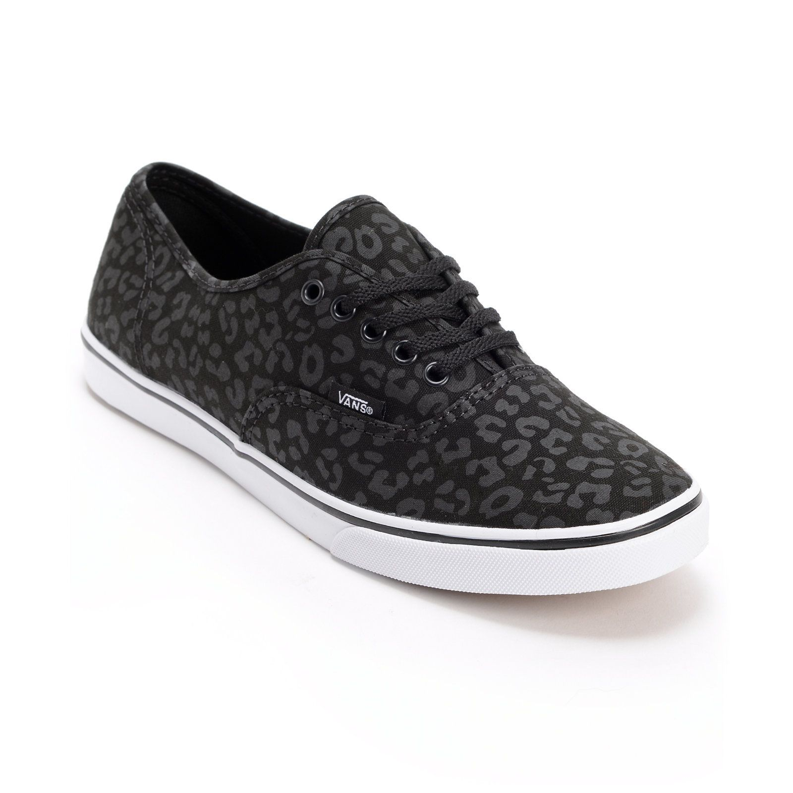 vans printed casual shoes