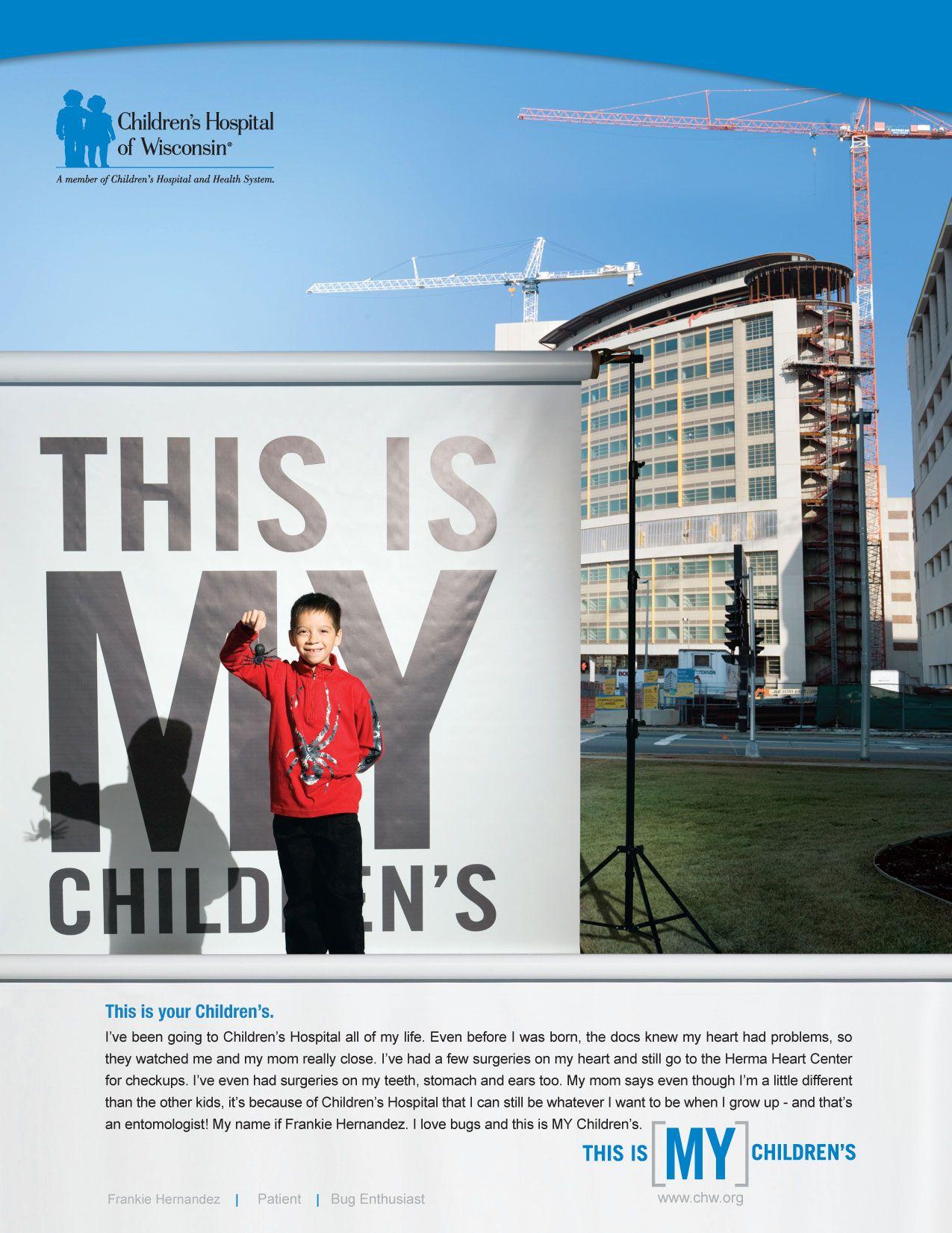 Http Doc Job Com Children S Hospital Of Wi Print Ad Core Creative Inc Great Perfect Unbelie Healthcare Advertising Childrens Hospital Healthcare Ads