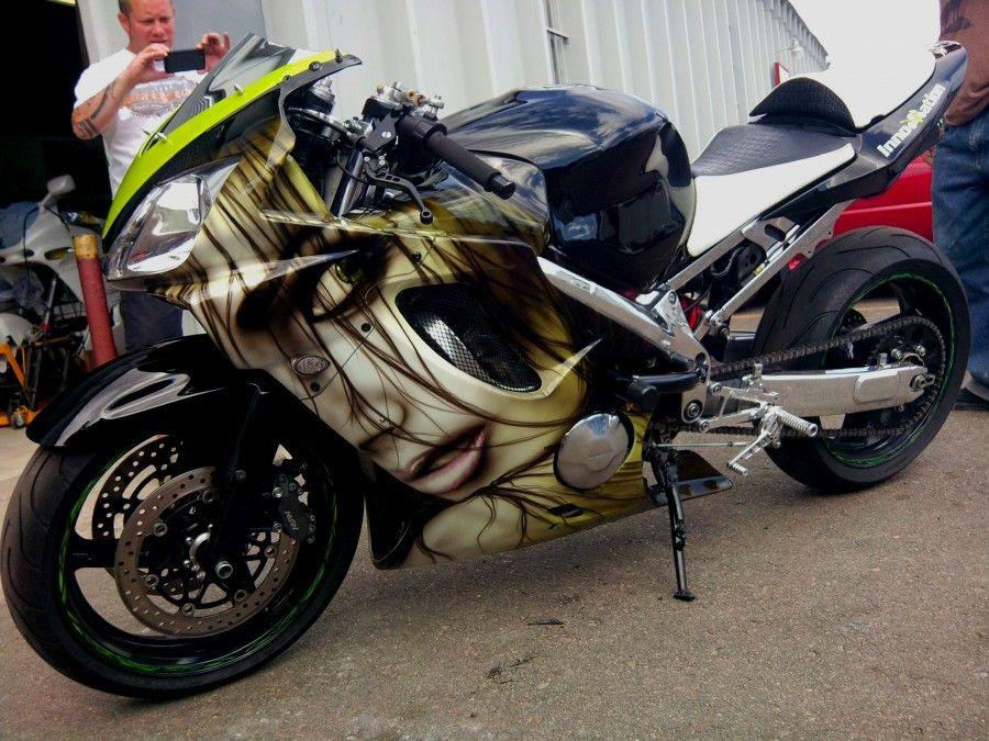 Custom sport bike by Innovation Motorsports Customer Projects