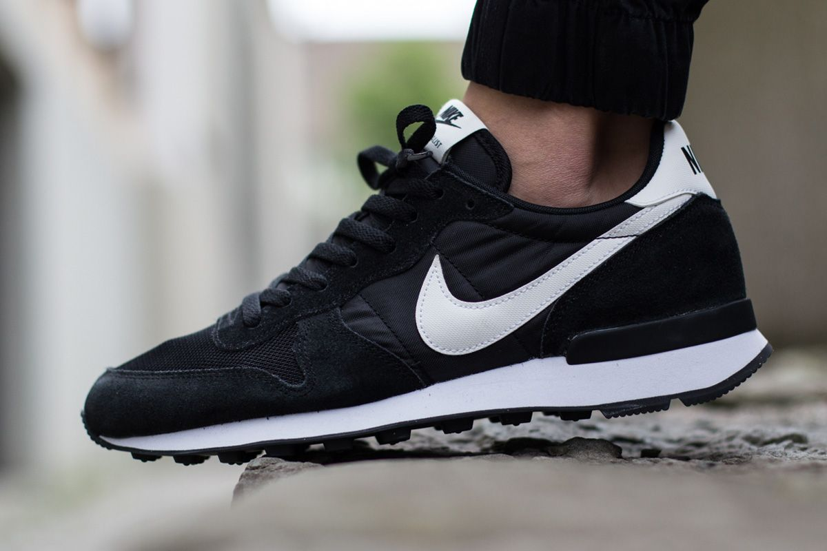 "size 40 c67e1 8a4b7 Nike Internationalist ""Black, White   Neutral Grey"""