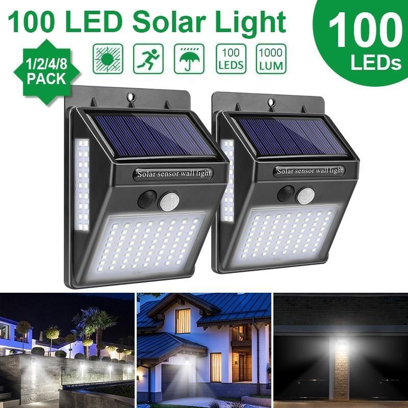 Vadira Led Solar Outdoor Wall Light In 2020 Solar Wall Lights
