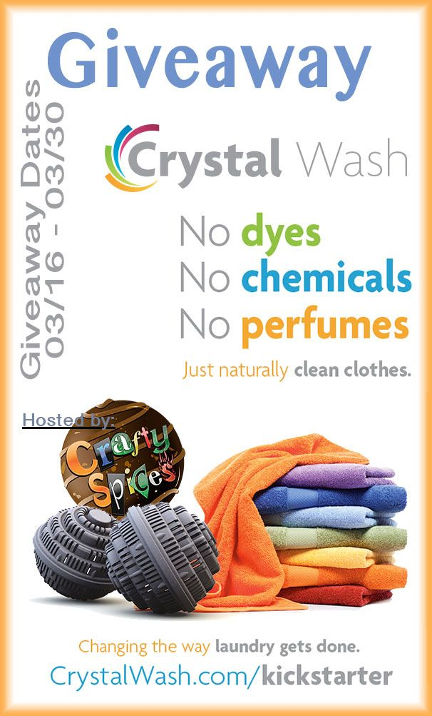 Cristal Wash Giveaway It Will Change The Way You Do Laundry
