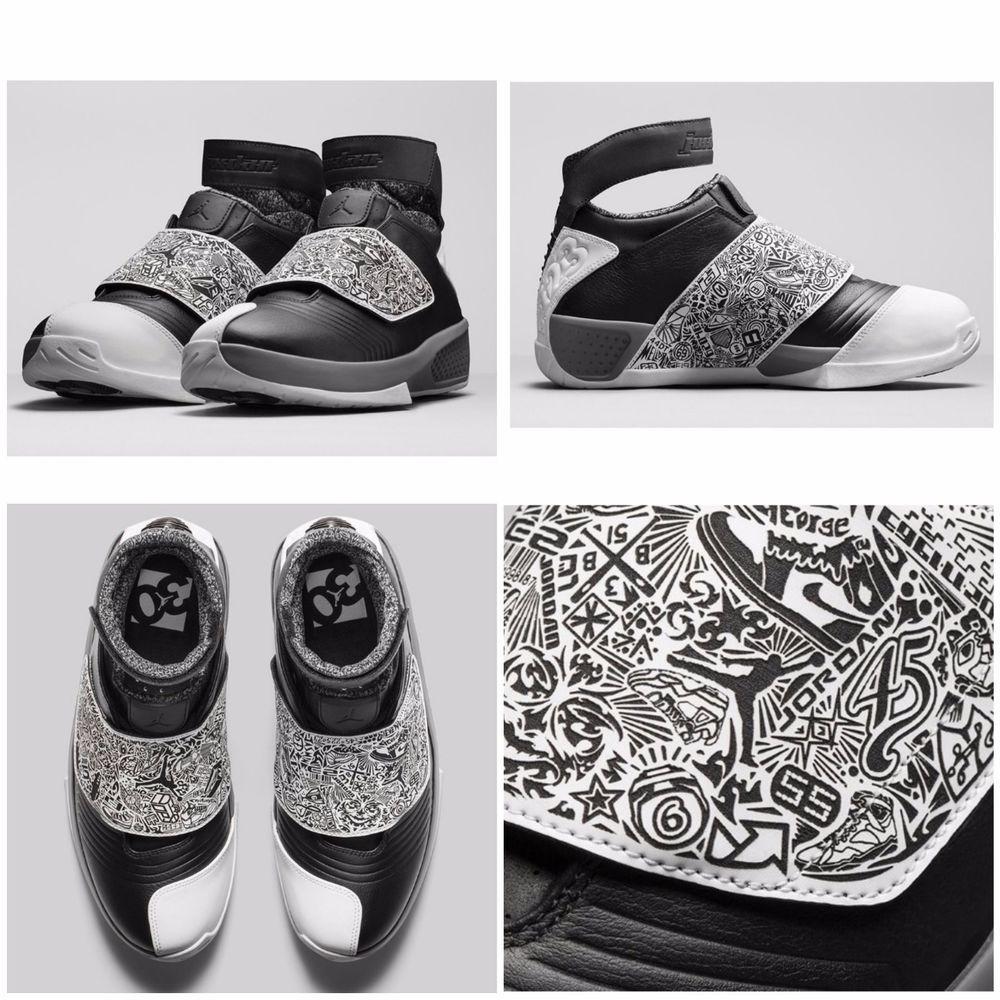 56c0553cd2e9 RETRO AIR JORDAN 20 XX PLAYOFF BLACK WHITE COOL GREY 310455-003 MENS SZ 11   Nike  AthleticSneakersduvalbandit.com  jordanxx  jordan20  jordan  jumpman  ...