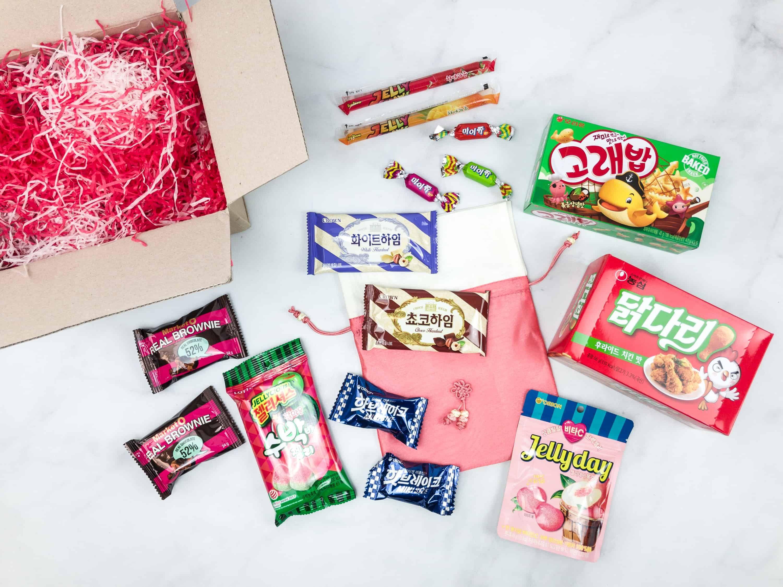 Korean snack box snack box snacks subscription boxes