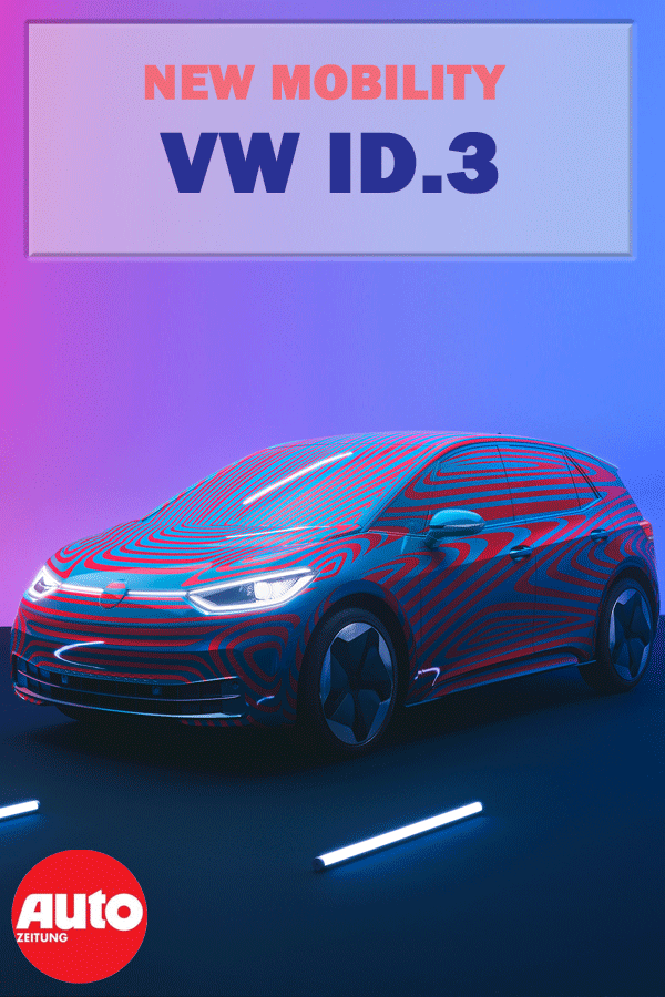 Vw Id 3 Elektroauto E Motor Autos