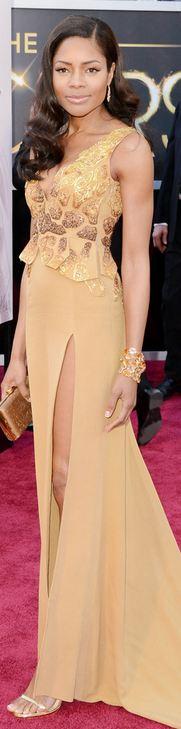 Naomie Harris at the 2013 Academy Awards - Vivienne Westwood.