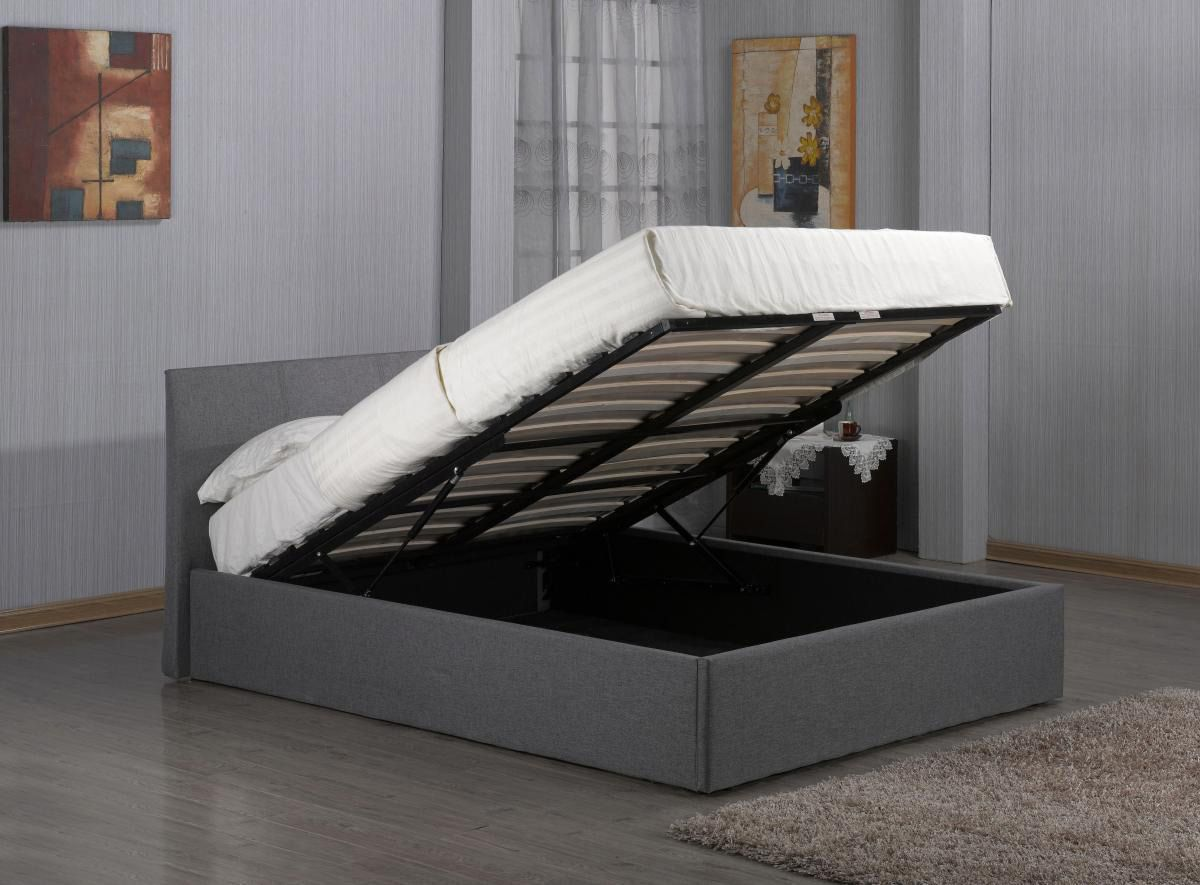 MW Fusion 4FT 6 Double Ottoman Bed Ottoman storage bed