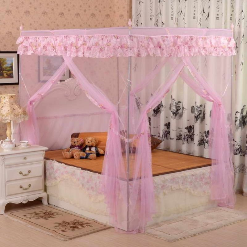 Himmelbett Im Kinderzimmer Der Traum Von Jedem Madchen In 2020 Diy Bett Baldachin Kleinkind Himmelbett Schlafzimmer Ideen