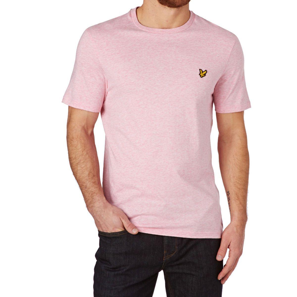 9b8a2e749 Lyle & Scott T-Shirts - Lyle & Scott T-shirt - Mid Pink Marl | want ...