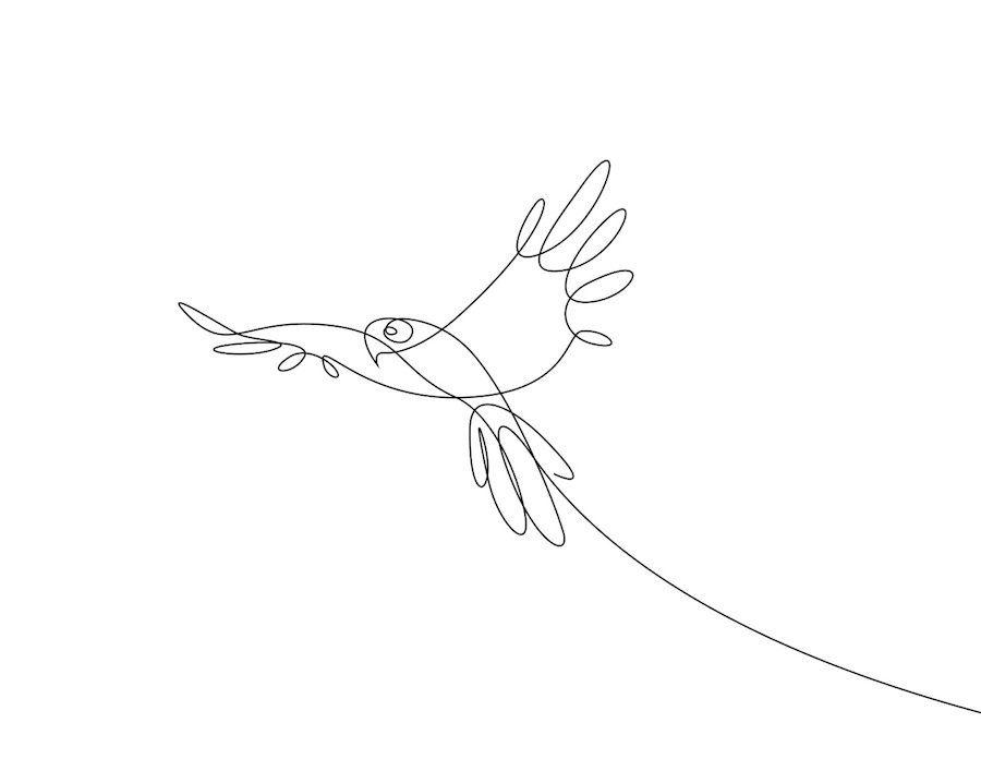 El Poder De La Linea Dibujos De Animales Hechos Con Un Solo Trazo Cultura Inquieta Dibujo Con Lineas Linea De Arte Dibujo De Una Sola Linea