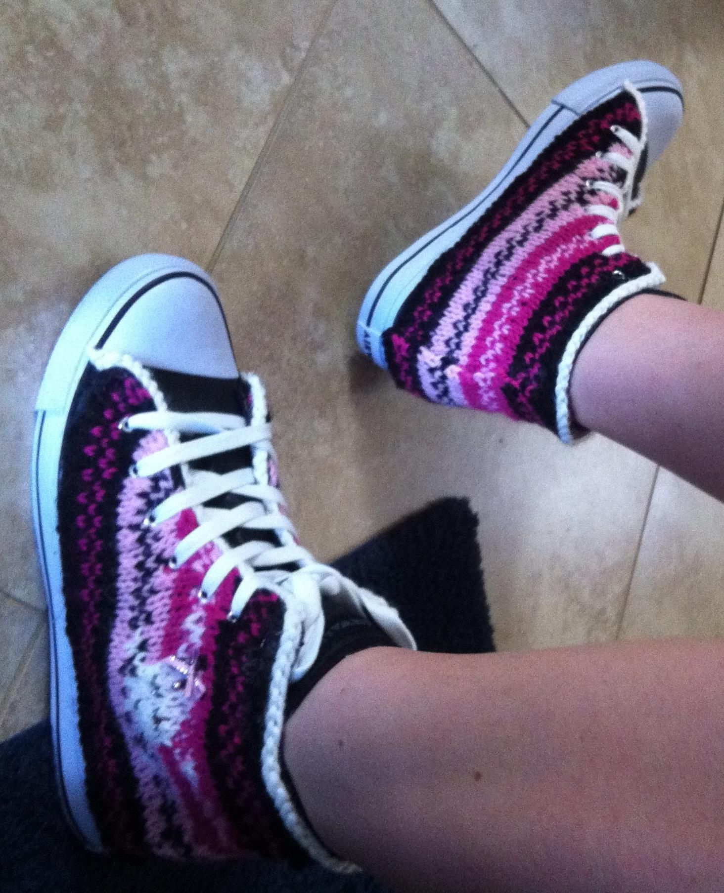 Knitted Chuck Taylors