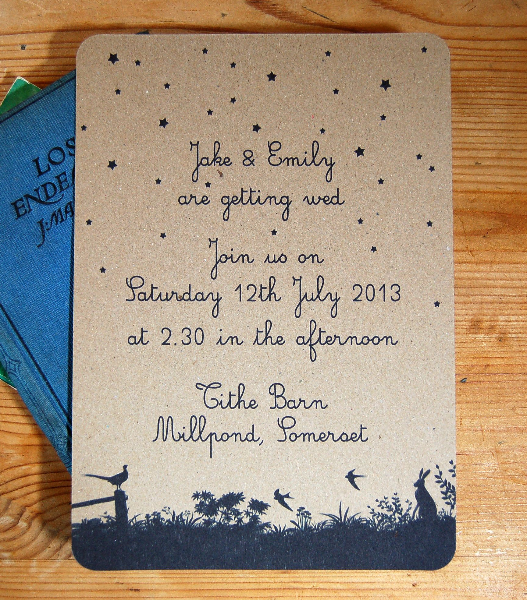 Midsummer Wedding Invitation | Weddings at Purity Spring Resort ...