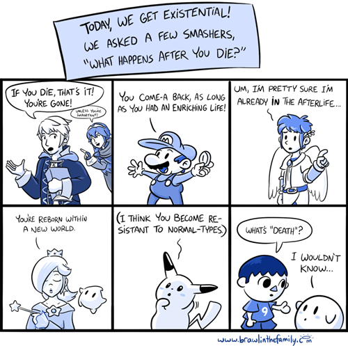 The Afterlife #SuperSmashBros Comic