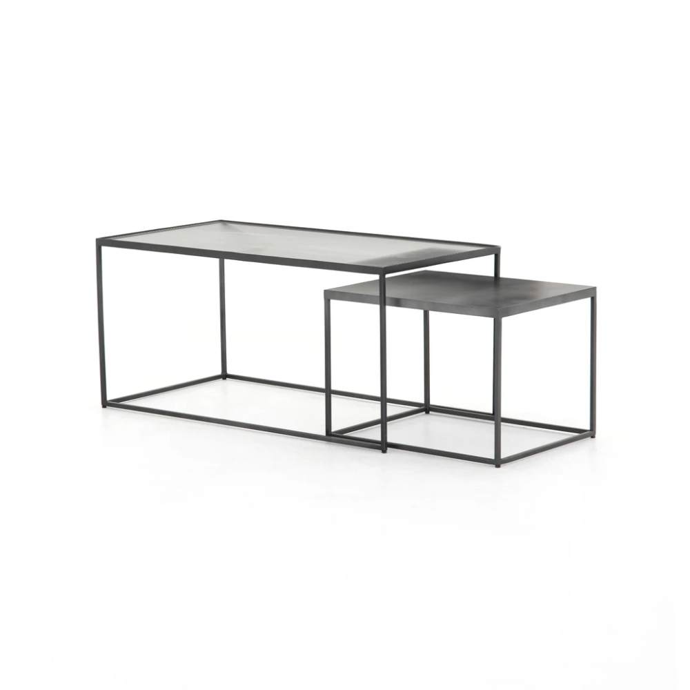 Callie Nesting Coffee Table In 2020 Table Burke Decor Coffee