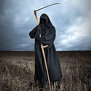 Do credit bureaus think you are dead?  Image: Grim Reaper © Anton Ovcharenko, Vetta, Getty Images