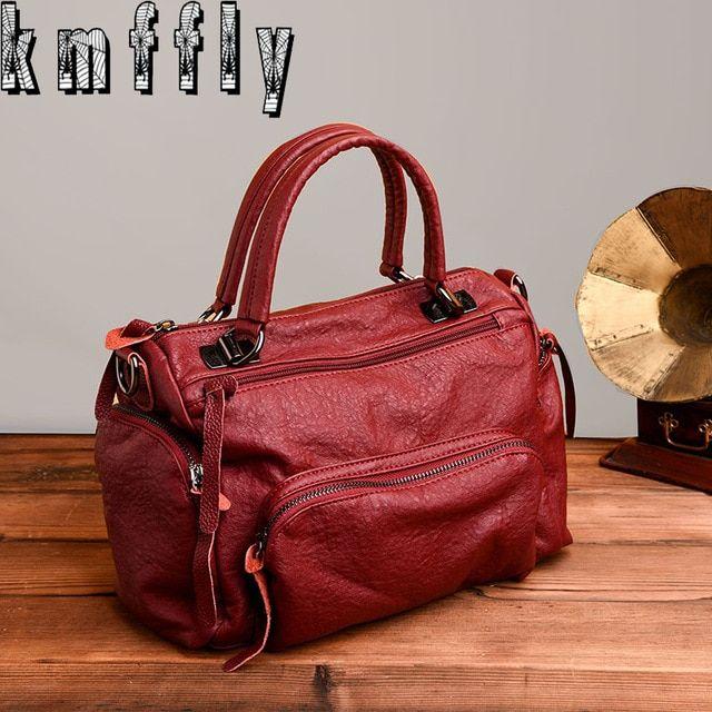 KMFFLY 2018 Fashion Women Bag Luxury Brand PU Leather Women Messenger Bags  Ladies Handbags Woman Leather Handbags Sacs Review 1d6ab941d4c9b