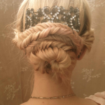 8 Fishtail Braid Hairstyles for Long Hair | Whether you're looking for a basic fishtail braid 'how to' tutorial for everyday, or want something more complicated like a side, dutch, messy, crown, or double fishtail braid updo for a big night out or a wedding, we've rounded up 8 styles you will fall in love with. Have short hair? We've included a couple of products to help keep flyaways in place. #fishtail #fishtailbraid #fishtailponytail #fishtailupdo #hair #braidedUpdos #messy fishtail Braids #m