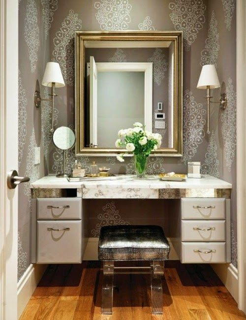 Latest Luxury Dressing Table Designs With Mirror For Bedroom