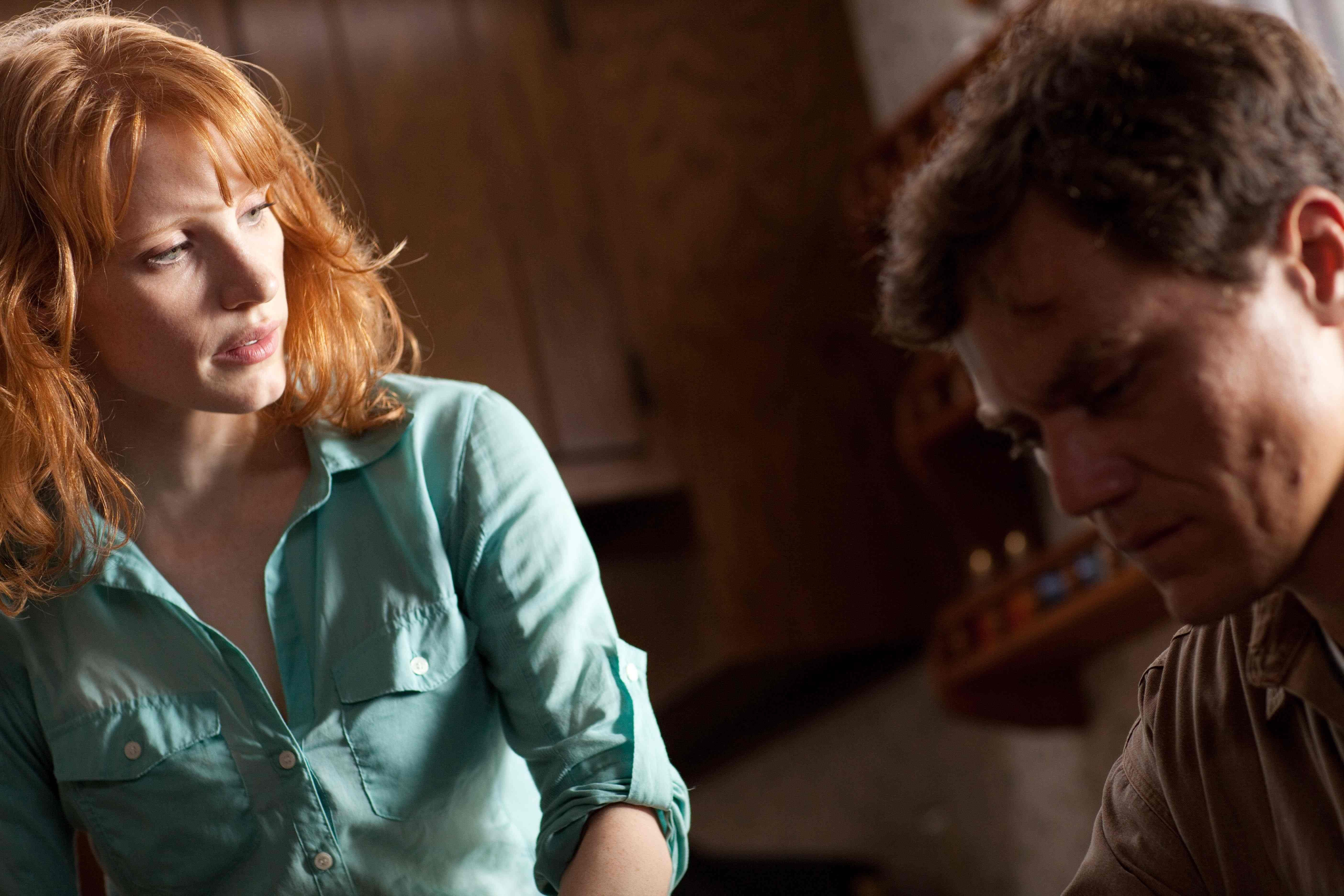 """Take Shelter"" movie still, 2011. L to R Jessica Chastain"