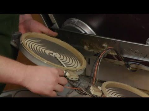 How To Replace Elements On Glass Top Electric Ranges Electrical Repairs Glass Cooktop Repair Cooktop Repair Heating Element