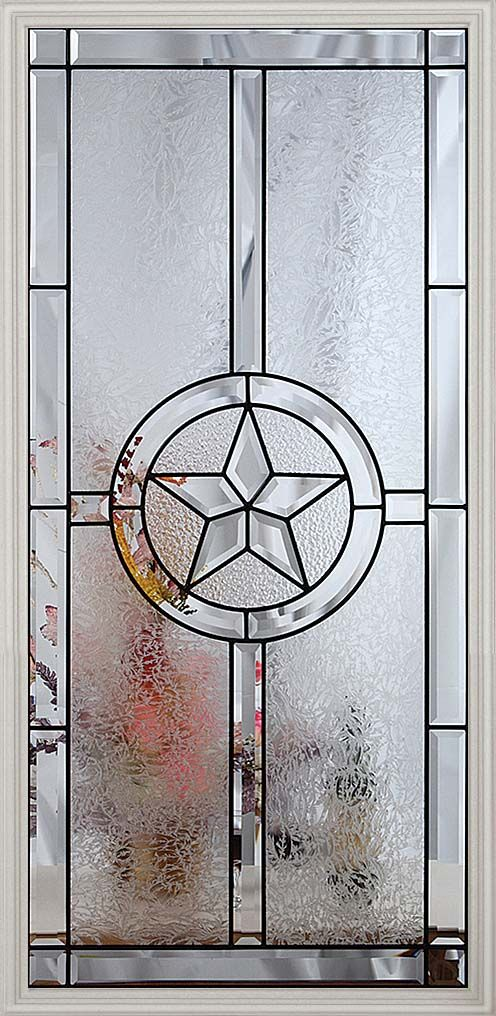We Have Two Texas Star Leaded Glass Doors We Really Enjoy Them