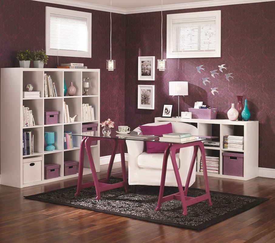 Basement Home Office: The #basement Is The Ideal Location For A #home #office
