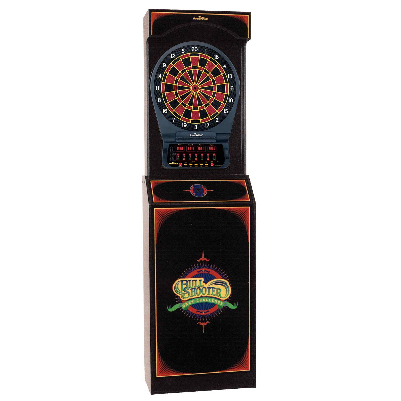 Arcade Style Dart Board with Cricket Pro 650