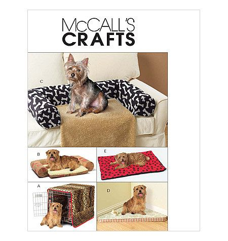 SEWING PATTERN McCall\'s M5015 Dog Crate by AngeliCreationDesign ...