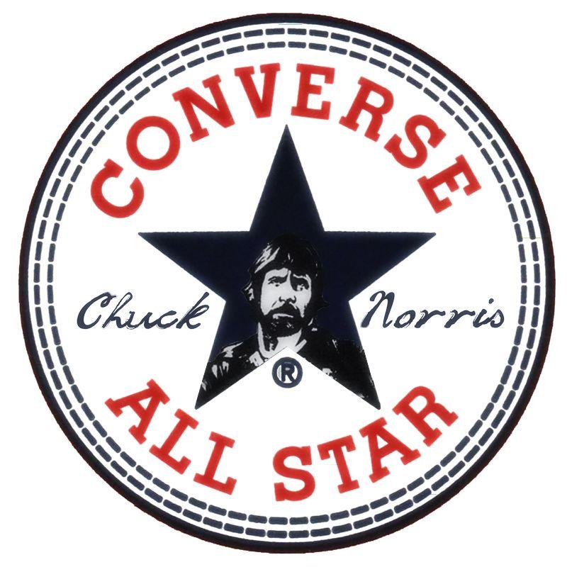 11a631e75aab93 Funny Chuck Norris Converse Logo. by RickFrost ...