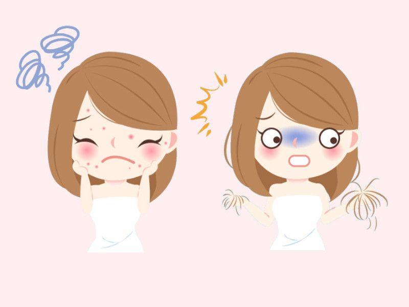Hautprobleme Haarausfall Die Naturliche Hilfe Haut Haar Fit