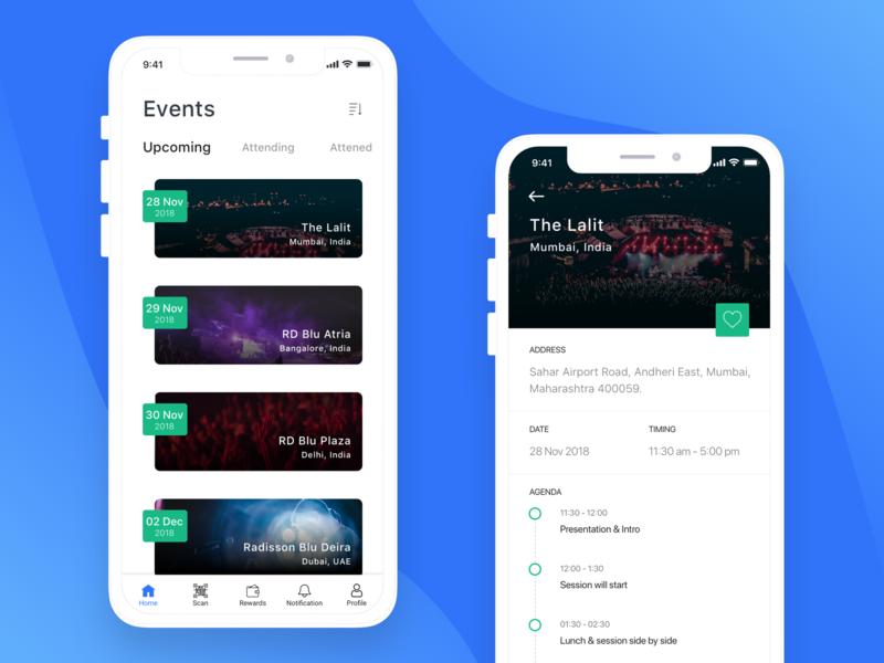 Radisson Events Event Radisson Mobile App Design
