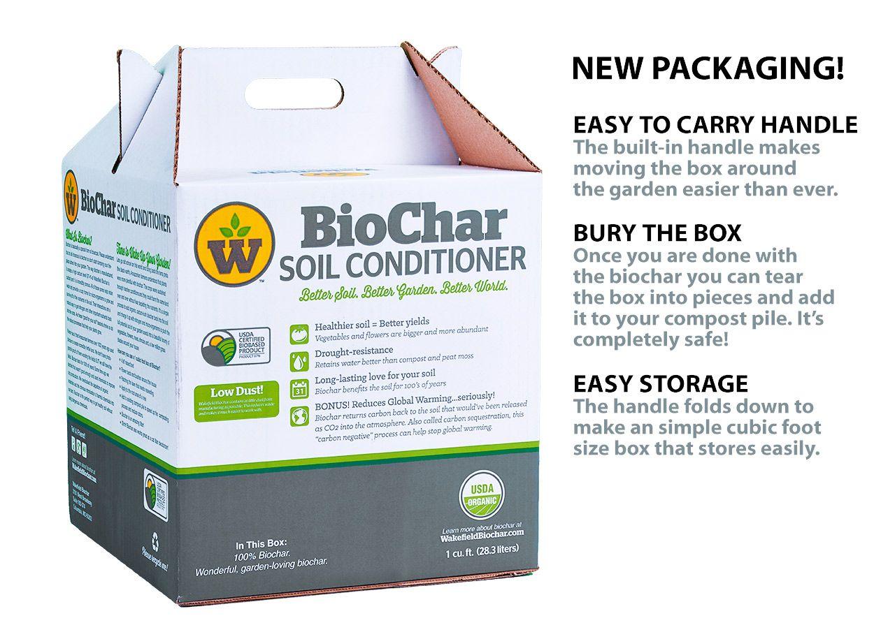 Buy Wakefield Premium Biochar Soil Conditioner 1 Cubic Foot Bag Soil Conditioner Soil Conditioner