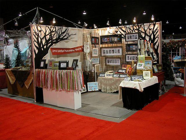 Salt Lake City Christmas Gift Show Craft Booth Displays Craft Show Booths Craft Fair Booth Display