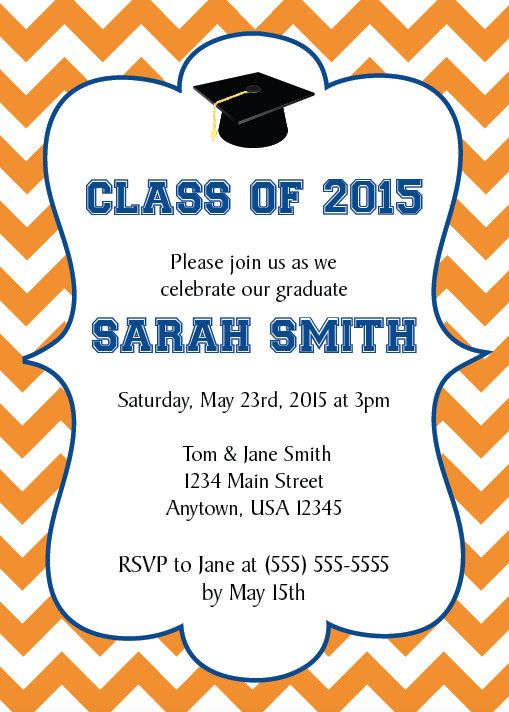 Graduation party invitations 2015 gallery coloring pages adult graduation party invitation graduate class of 2015 college grad solutioingenieria Gallery