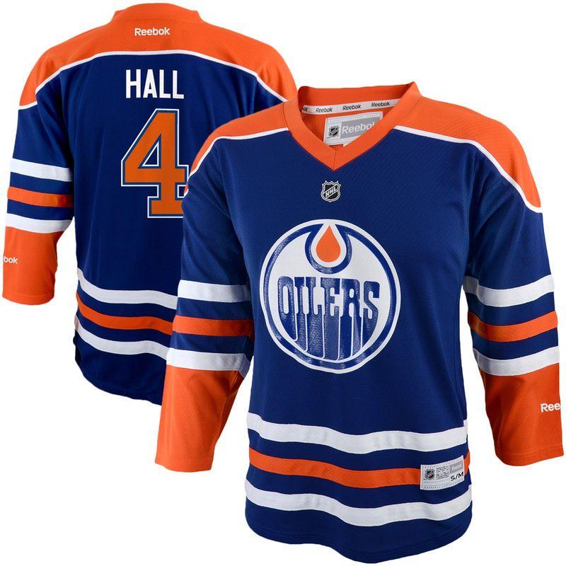 Reebok Taylor Hall Edmonton Oilers Infant Replica Player